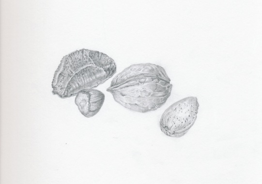 Nuts in Graphite